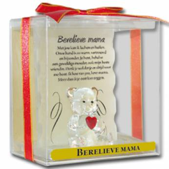 Glaswerk engel berelieve mama